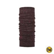 【BUFF】舒適條紋WOOL頭巾-頁岩紅(BF117819-923/圍巾/圍脖/領巾/羊毛頭巾/美麗諾羊毛)