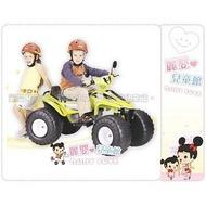 麗嬰兒童玩具館~台灣建迪ct-658超大雙人座電動大沙灘車 大小輪二款