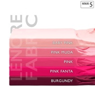 (New Arrival!!) Katalog 5 - Bahan Kain Rayon Spandex Super (Viscose Elastane Lycra) - Burgundy