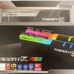 G.SKILL Trident Z RGB DDR4 3600MHz 16GB Kit (2x8GB) F4-3600C18D-16GTZR
