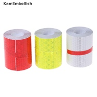 Reflective Tape Fluorescent Bicycle Reflective Stickers Adhesive Tape Stickers {bigsale}