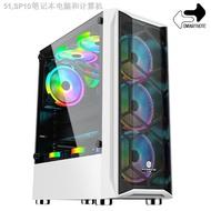 ◇♧✻GAMEKM GAMING CASE USB 3.0  Tempered glass Side Cover CPU DESKTOP CC1 White