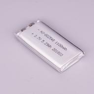 工廠直銷3.7V聚合物鋰電池802548 1100MAH行車記錄儀美容儀音箱
