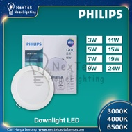Philips Downlight LED Embedded Ceiling Downlight Spotlight 3W 5W 7W 9W 11W 15W 19W 24W Ultra-Thin