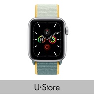 [U Store] Apple Watch Series 5 GPS Aluminum Case with Sport Loop Silver 40mmGPS+Cellular