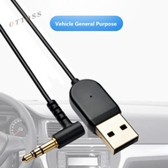 Ot Car 3.5mm Jack Dongle Cable USB Bluetooth 5.0 Handsfree Music Adapter Receiver