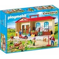 playmobil 提盒 農場 特價
