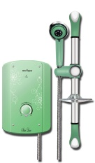 Aerogaz S890CL Slim Design Instant Water Heater (Cool Lime)