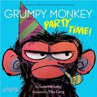 2154.Grumpy Monkey Party Time! Suzanne Lang; Max Lang (ILT)