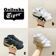 * Ready Stock * ASICS·Onitsuka Tiger limited edition high-top children's board shoes boys and girls casual shoes Baby Shoes Kids Shoes  Kids boys running shoes