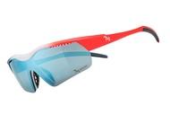 【蘋果戶外】720armour B325-24-HC 消光深灰藍與消光螢桔紅 Hitman Jr HiColor 運動太陽眼鏡 適合青少年 小臉女生 自行車風鏡 防風眼鏡