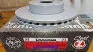 全新德國OZ碟盤 BENZ  W211 2007- E350 前盤一組6000元