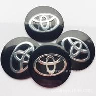 NEW 65mm Toyota Wheel Center Caps Covers hubcap For center cap sticker 4pcs (Color: Black)