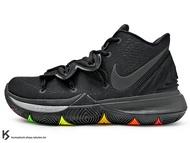 2019 Kyrie Irving 最新代言鞋款 NIKE KYRIE 5 EP BLACK 全黑 前掌 ZOOM TURBO AIR 氣墊 (AO2919-001) !