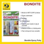 BONDITE Epoxy Putty (A+B) 60g Home DIY Glue Multipurpose Repair Epoxy Putty Adhesive Waterproof Epoxy Gap Filler