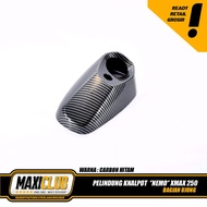 variations of the XMAX protective cover exhaust tip mufflerguard nemo xmax carbon xmax accessories