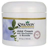 Swanson Joint Cream with Glucosamine  Boswellia 4 fl oz (118 ml) Cream