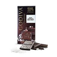 GODIVA 海鹽50%黑巧克力(100g/片)