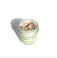 Soy wax candle   Jasmine and wild crystals aromatherapy candle   Hand Made soy wax candles   Aromatherapy Candles