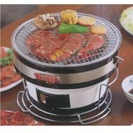 ~* 萊康精品百貨*~日本製  桌上型 圓形碳烤爐 烤肉爐 燒烤爐 珪藻土 B-16