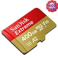 SanDisk 400GB 400G microSDXC【Extreme 160MB/s】microSD micro SD SDXC UHS 4K U3 V30 A2 C10 Class 10 SDSQXA1-400G 手機記憶卡