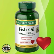 在台最新現貨!美國COSTCO Nature's Bounty魚油 Fish Oil 1400 mg 130顆裝