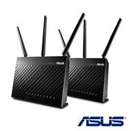 刷卡含發票AIMESH AC1900(RT-AC68U 2PK) AC1900 雙頻全屋網狀 WiFi 系統適用於大坪數