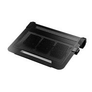 COOLER MASTER CM Notepal U3 Plus筆電散熱墊-黑 NB散熱類
