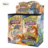 Pokemon TCG: กล่องบูสเตอร์พันธบัตรพระอาทิตย์และพระจันทร์