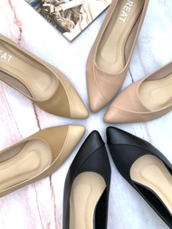 GREAT-C05 รองเท้าคัชชูผญ รองเท้าคัชชูทำงาน รองเท้าทำงาน ผญ รองเท้าคัชชูส้นสูงไซส์ใหญ่ รองเท้าคัชชูไซส์ใหญ่ รองเท้าปลายแหลม ส้นสูง2นิ้ว