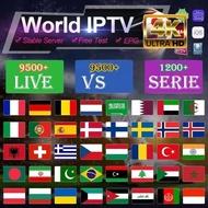 Best hd world IPTV support 1/2/3 devices free test IPTV smart Android Tv Box Pc m3u Spanish Poland France Adult IPTV