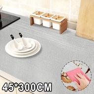 45*300ห้องครัวตู้ลิ้นชักผ้าปูชั้นวางของอลูมิเนียมฟอยล์แผ่นรองตู้กันน้ำพื้นรองเท้า