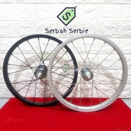 "Rims Bicycle Rims 16 ""multi Single Speed Wheels 16 Inch Alloy Wheels Set Folding Bmx Wheelset City Bike"