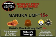 Honey droplet 100% UMF® Manuka Honey 15 + × 12 pieces [FREE EMS]