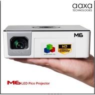 aaxa 1080P大面板+1200流明固態光源+90分鐘電池 AAXA M6 1080FHD LED投影機