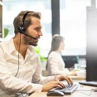 780元 電話耳機 Headset 國洋TENTEL K-362  專用電話耳機麥克風 銀行行銷 客服 總機 醫院 公家機關電話耳機