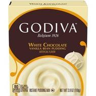 Godiva - 比利時朱古力布甸粉 白朱古力 110g 包裝隨機 (平行進口)