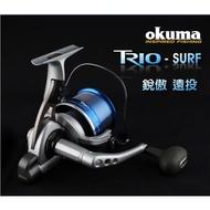 ((Happy Fishing))OKUMA-銳傲 TRIO- SURF 遠投 紡車式捲線器 TS-6000