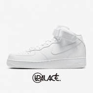 【NIKE】AIR FORCE 1 MID '07 AF1全白 中筒 休閒鞋 空軍一號 315123-111(palace store)