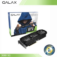 VGA (การ์ดจอ) GALAX GeForce RTX 3080 SG (1-Click OC)