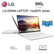 LG GRAM LG LAPTOP Ultrabook Gram 14ZD970-EX50K  thinnest thin laptop light without os /14inch