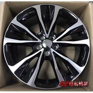 【超前輪業】編號(343) 類頂級 原廠 ALTIS 17吋鋁圈 5孔100 5孔114.3 黑底車面 共4色
