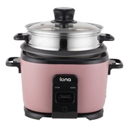Iona GLRC10 1.0L Rice Cooker with Steamer