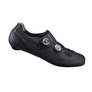 【SHIMANO】RC901 男性公路車競賽級車鞋 寬楦 黑色