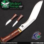 詮國 - Khukuri House 廓爾喀 / 廓爾克手工刀具 / 10吋傳統叢林王 / AM-2009/10