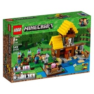 LEGO 樂高 Minecraft the Farm Cottage 21144 (549 Piece)