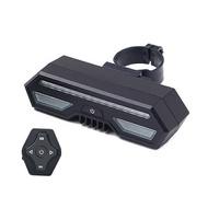 全方位無線遙控自行車LED警示燈 自行車轉向燈 單車警示燈 LED尾燈 腳踏車方向燈