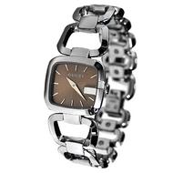 GUCCI 古馳G-Gucci 時尚咖啡面女腕錶(YA125402)-32mm