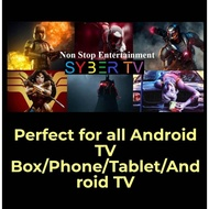 🇲🇾 SYBER TV / SYBERTV IPTV HD / VVIP LIVE CHANNEL FOR ALL ANDROID DEVICE
