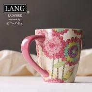奶茶杯美國LANG 厚實大容量馬克杯陶瓷杯咖啡杯奶茶杯 清新甜美 500ML